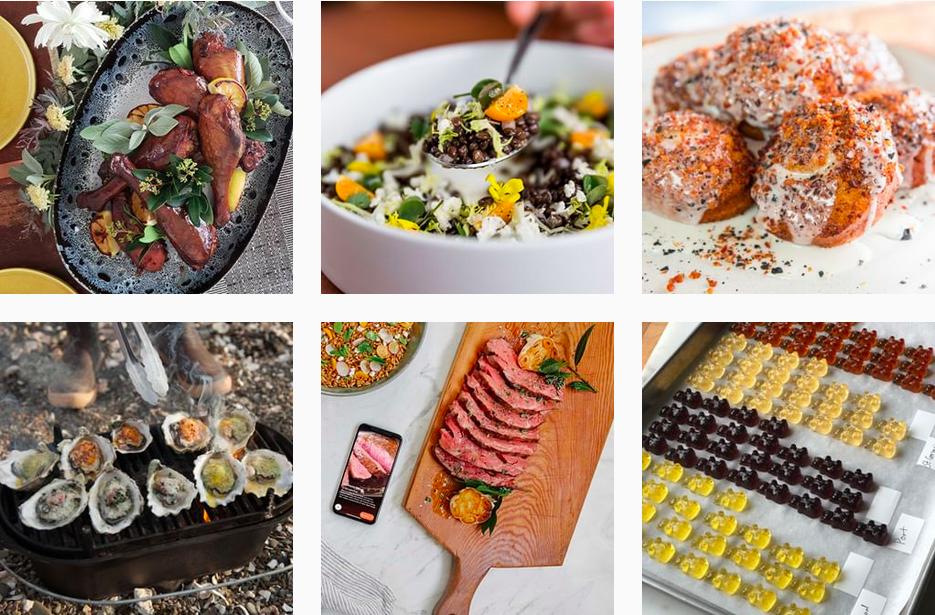 Instagram food bloggers @ChefSteps