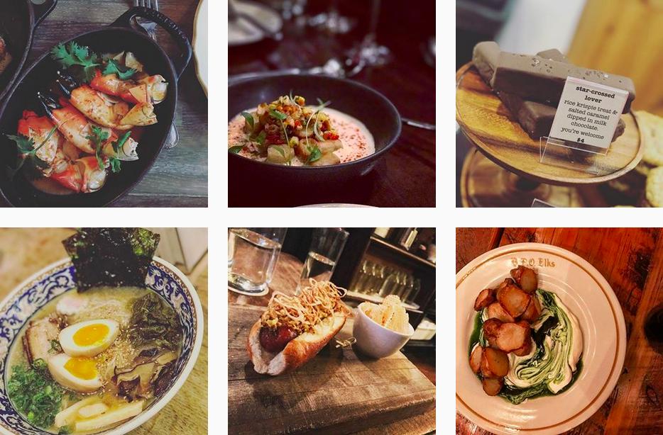 @CityGrit Instagram food bloggers